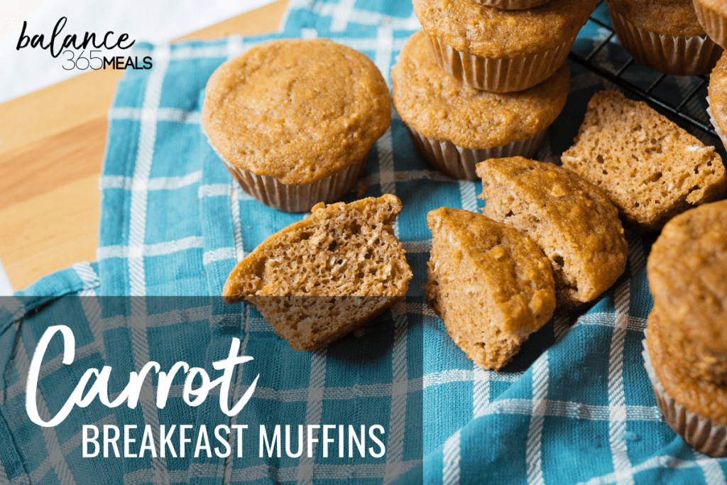 Carrot Breakfast muffins with no added sugar! Easy enough for a weekday morning and healthy enough for the whole family. These whole wheat muffins are fluffy and reminiscent of carrot cake but without the calories. Great for packing your kid's lunch box or eating on the go.