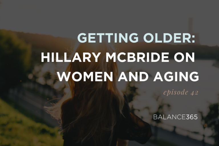 Annie and Jen are joined by Hillary McBride to discuss her research on women, aging, body image and the transformative power of getting older. Media messages and cultural learning are unpacked in this powerful exploration of how to get past the fear of aging and embrace living life to its fullest.