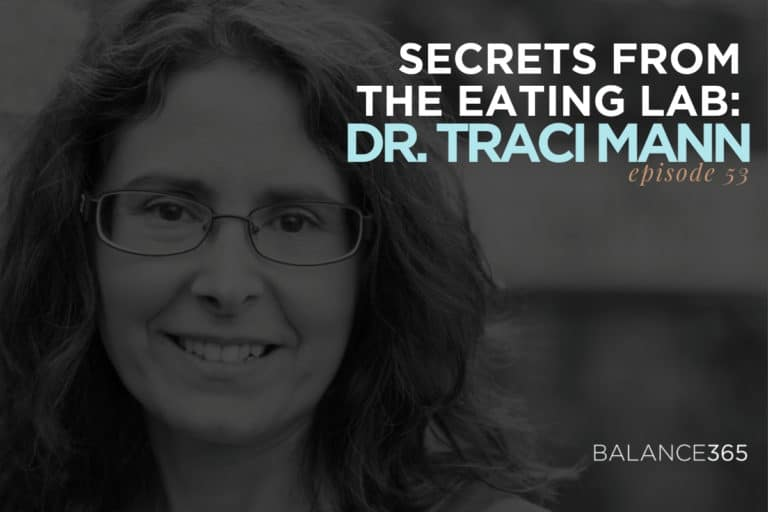 Secrets from the Eating Lab Author Dr. Traci Man, professor of Psychology at the University of Minnesota and an expert on the psychology of eating, dieting and self-control joins Jen, Annie and Lauren in discussing self-control, temptation, why diets don't work and what you should do instead.