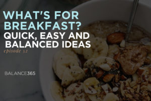 In this solo-podcast, Lauren explores everyone's big questions about breakfast - what to eat when your mornings are busy, when to eat it and if breakfast is truly the most important meal of the day. Tune in for ideas to make your mornings go more smoothly. Bon appetit!