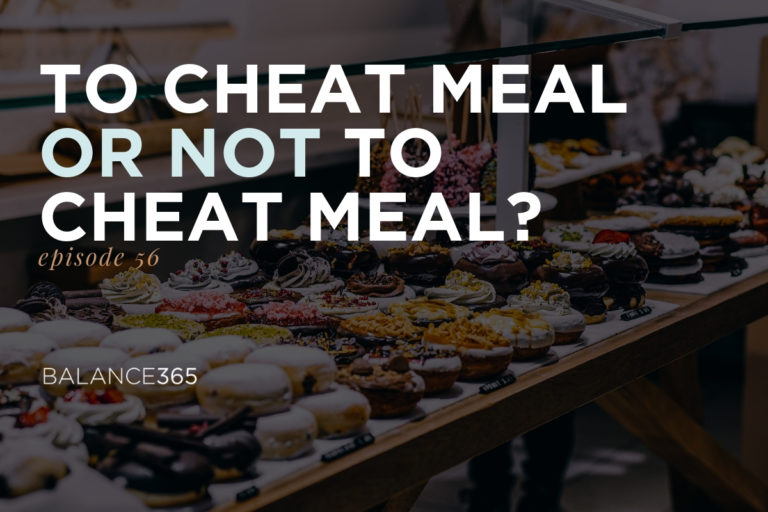 Join us as Annie and Lauren deconstruct the myths and assumptions around cheat meals. Do they boost your metabolism? Do they help you stay on track? Are they a much needed psychological break? Tune in and find out what the science says and how to eat the foods you love moderately and without guilt.